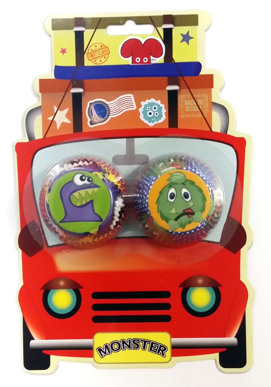 Mini Cupcake Case Monster Car