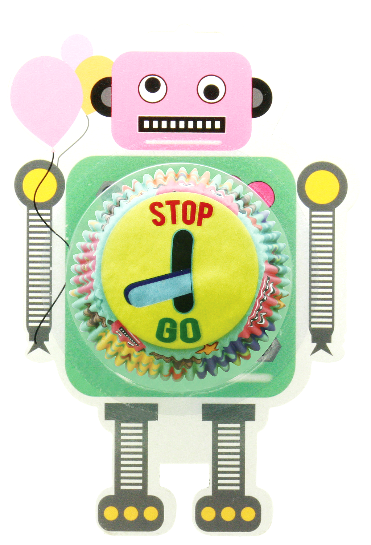 Standard Cupcake Case Robot Engineer