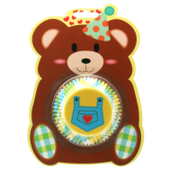 Standard Cupcake Case Gingham Bear