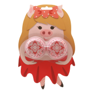Mini Cupcake Cases Lady Pig