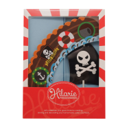Pirate Party 2-in-1 Cupcake Wrapper Combo