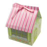 Cake Box 4 Cav. House Shape